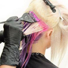 Pravana Chromasilk Neons -how to combine bright dye - Rainbow Hair Colour
