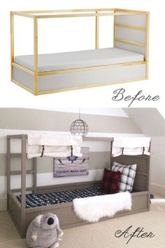 Ikea Kura Bed Hack: Option 2 with DIY Ball | Harlow & Thistle