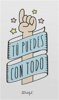 Imágenes y frases positivas para compartir | Saberimagenes.com Mr Wonderful, Cheer Up, More Than Words, Super Funny, Wise Words, Hand Lettering, Bullet Journal, Quotes, Cards