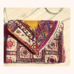 """Al Miro on Instagram: """"Dreaming of vintage!? Authentic gorgeous hand embroidered bags listed on our etsy shop! Link in bio #etsyvintage #embroideredclutch…"""" Embroidered Bag, Fabric Bags, Vintage Jacket, Handmade Leather, Floral Motif, Etsy Vintage, Textiles, Etsy Shop, Coats"""