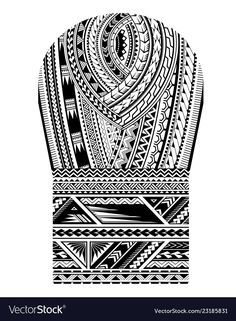 Good for shoulder and sleeve area tattoo ornament Maori tribal art pattern. Good for shoulder and sleeve area tattoo ornament Polynesian Tattoo Sleeve, Polynesian Tattoo Designs, Maori Tattoo Designs, Sleeve Tattoos, Maori Tattoos, Tribal Arm Tattoos, Samoan Tattoo, Fijian Tattoo, Borneo Tattoos