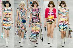 Chanel RTW 2014 Rainbow Fashion Trend – Paris Fashion Week | Write In Color