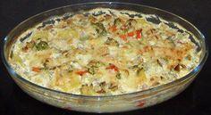 Rezept: Vegetarisches - Kartoffel-Gemüse-Auflauf
