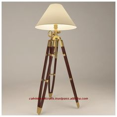wooden tripod lamps - Google Search