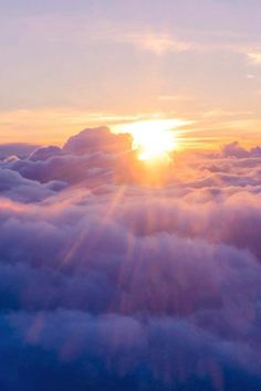 Landscape And Nature — Above the clouds, Marianne Horndal Pretty Sky, Beautiful Sky, Beautiful World, Blue Clouds, Sky And Clouds, Images Lindas, Landscape Photography, Nature Photography, Sky Aesthetic