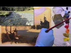 Painting Transparent Water - YouTube
