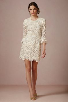 Rehearsal dinner or just whenever dress .. but a little steep at $400, geez anthropologie!