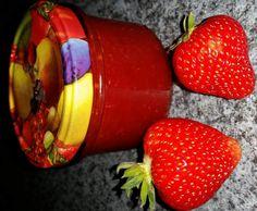 Rezept Erdbeer-Marmelade, super einfach und lecker!! von Pippi16 - Rezept der Kategorie Saucen/Dips/Brotaufstriche