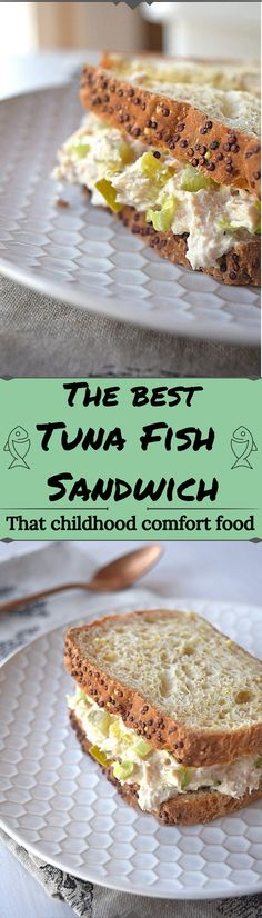 The Best Tuna Fish Salad/Sandwich - A Stray Kitchen