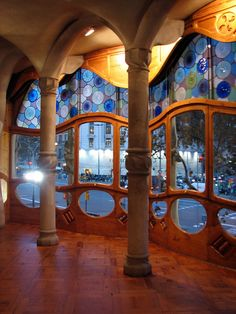 Interior of Gaudi House, Barcelona
