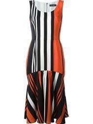Dolce & Gabbana Vestido Listrado - Dolce & Gabbana - Farfetch.com