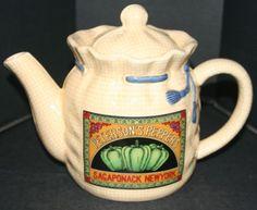 Peterson's Peppers, Sagaponack, New York - Teapot