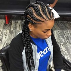 Big Cornrows Braids Hairstyles Ideas black braids hairstyle braids hairstyles braids for Big Cornrows Braids Hairstyles. Here is Big Cornrows Braids Hairstyles Ideas for you. Big Cornrows Braids Hairstyles fancy outfit ideas for rasta brai. Ghana Braids Hairstyles, Cool Braid Hairstyles, Braided Hairstyles For Black Women, My Hairstyle, African Hairstyles, Black Hairstyles, Teenage Hairstyles, Hairstyles Pictures, Hairstyles 2018