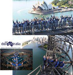Per chi volesse arrampicarsi sull'Harbour Bridge Sydney