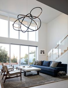 An Incredibly Serene House by Catherine Kwong in the Middle of Bustling San Francisco - Architectural Digest Architectural Digest, Contemporary Interior, Modern Interior Design, Modern Interiors, Contemporary Architecture, Interior Architecture, Beautiful Sofas, Family Room Design, Family Rooms