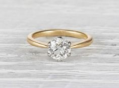 1.27 Carat Edwardian Tiffany & Co. Engagement Ring