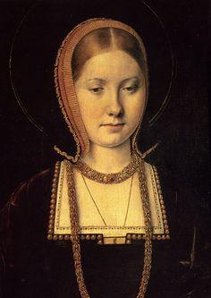 Catalina de Aragon, de Michael Sittow