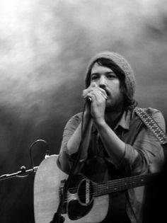 Fleet Foxes. One of the most unique & beautifully balanced harmonies I have heard in a band in a long time.