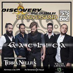 """Discovery Bar presenta a: """"Gaêlica y Terra Nullius"""" http://crestametalica.com/events/discovery-bar-presenta-a-gaelica-y-terra-nullius/ vía @crestametalica"""