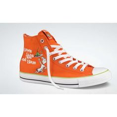 CONVERSE Collection in honor of Dr. Seuss! I gotta have the Green Eggs and Ham ones!