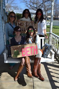 Party Bird: Glamping Bachelorette Party