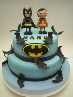 Torta Batman y Robin | Flickr: Intercambio de fotos