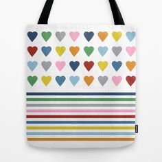 #hearts #heart #love #rainbow #colors #colours #block #bold #bright #white #stripes #projectm