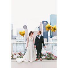 Urban wedding photos
