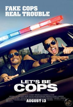 "Watch ""Let's Be Cops"" Movie FREE Online! (2014) Read more at http://www.stewardofsavings.com/2014/07/free-lets-be-cops-movie-screening.html#BLxJZUOdD6vusuDZ.99"