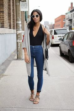 Chic and Silk: GET INSPIRED: Μακριά Ζακέτα!
