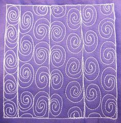 Spiral Vine - Day 172 by Leah Day, via Flickr