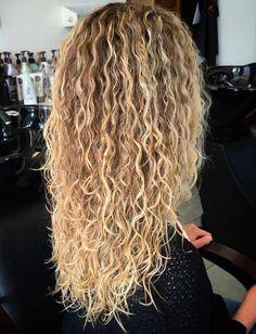 Perms For Long Hair Hair Pinterest Hair Perm And Curly Hair