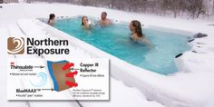 Looking for an energy efficient hot tub? Vita Spa has the answer. Check out their new and improved #NorthernExposure insulation! www.vitaspa.com