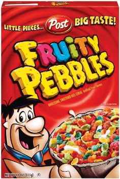 Search - american fruity pebbles breakfast cereal box 9821 p Kids Cereal, Cereal Boxes, Fruity Pebbles Cereal, Packaging Snack, Types Of Cereal, Unicorn Foods, Crunch Cereal, Food Gallery, Snack Recipes