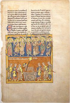 Manuscrito con los angeles sosteniendo las siete copas  Laura Cristina Revilla Sánchez