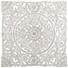 White Carved Wall Decor | Pier 1 Imports 199.00