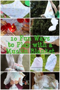 10 Fun Ways to Play with Muslin Blankets