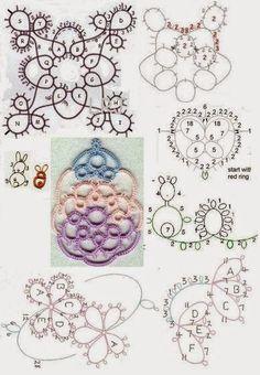 Tatting 18 - Crochet Tatting - Google+