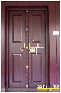 House Main Door Design, Single Door Design, Wooden Front Door Design, Double Door Design, Bedroom Door Design, House Design, Wooden Double Doors, Double Front Doors, Wooden Doors