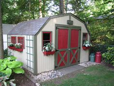 Outdoor shed re-do..I need to make mine into a craft shed.