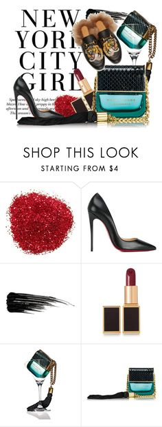 """""""MARC JACOBS DECADENSE"""" by magdausek-bodzioch on Polyvore featuring uroda, Christian Louboutin, Urban Decay, Tom Ford, Marc Jacobs i Gucci"""