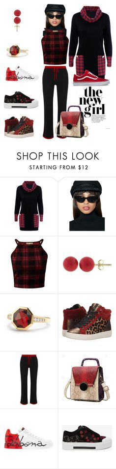 """Exercise Gear"" by trescrwndgg ❤ liked on Polyvore featuring Replay, Cameo Rose, Pori, David Yurman, Sam Edelman, Madeleine Thompson, Dolce&Gabbana and Alexander McQueen"