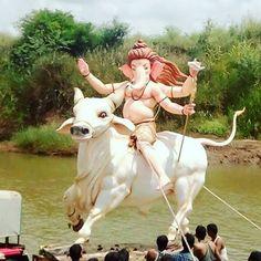 #Mumbai_ganesha  Kolhapur Visarjan #mumbai #ganesha #ganpati #bappa #morya…