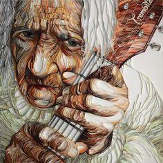 Yulia Brodskaya, paper art