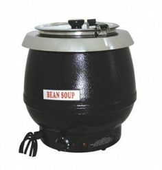 Uniworld USK-6000 10 QT Electric Soup Warmer Kettle by Uniworld. $105.00. Stainless steel inner pot is removable, hinged lid assembly, and metal base.. Ideal for fast foods, supermarkets, cafeterias, and hotels.. Holds 10.5 quarts of liquid. Unit is insulated to protect from heat build up.. Features adjustable temperature control to keep soups, sauces and stews warm at desired. Holds 10.5 quarts of liquid. Features adjustable temperature control to keep soups, sauces and stews...