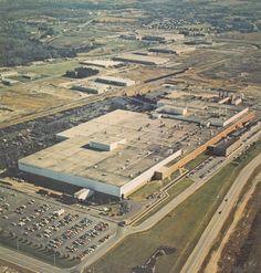 Budd's factory complex in Kitchener.