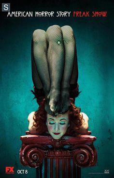 American Horror Story: Freak Show lança novos pôsteres - Minha Série