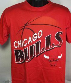 Vintage Chicago Bulls Mens Size Medium T Shirt #GraphicTee #ChicagoBulls