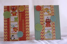 kaisercraft party animals card | Another party animals card