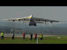Video HD: Antonov Mriya take off from Zurich Airport Mario, Russian Air Force, Military Jets, Commercial Aircraft, Earth From Space, Cool Places To Visit, Worlds Largest, Fighter Jets, Amazing